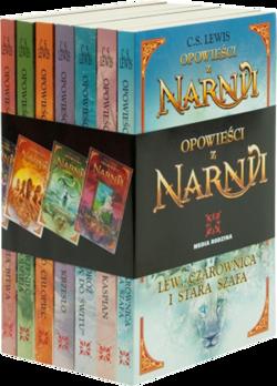 4083a0a3b96e1 Opowieści z Narnii komplet 7-pak