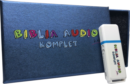 Biblia Audio Superprodukcja KIDS komplet PENDRIVE