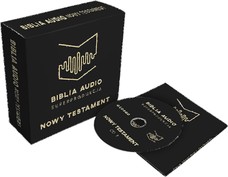 Biblia Audio Superprodukcja Nowy Testament BOX CD MP3